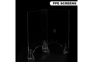 PPE acrylic safety screens