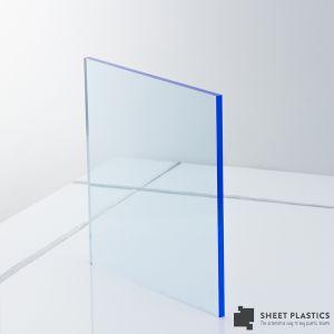 3mm Blue Fluorescent Acrylic Sheet Cut To Size