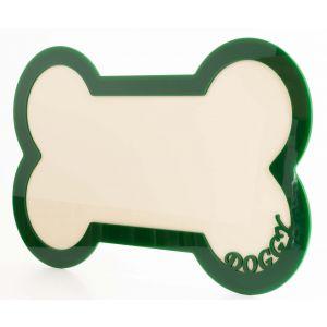 Bone Shape Pet Food Mat