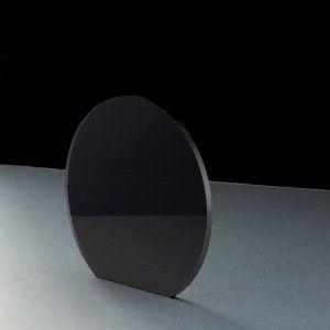 3mm Dark Grey Tinted Acrylic Disc Bespoke Size -