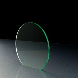 3mm Light Green Tinted Acrylic Disc Bespoke Size -