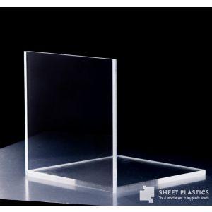 12mm Clear Acrylic Sample 150 X 150mm