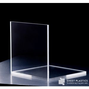 25mm Clear Acrylic Sample 150 X 150mm