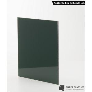 3mm Green Aluminium Composite Sample 150 X 150mm