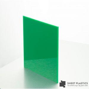 5mm Green Acrylic Sample 150 X 150mm