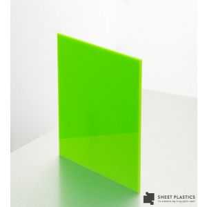 5mm Lime Green Acrylic Sheet Cut To Size
