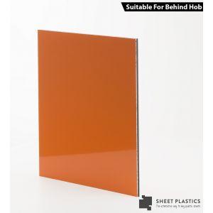 3mm Orange Aluminium Composite Cut To Size