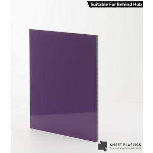 3mm Purple Aluminium Composite Cut To Size