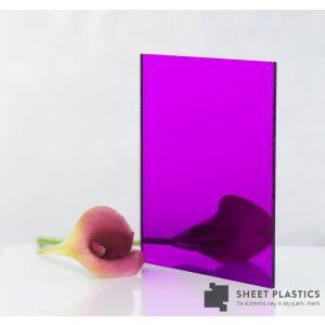 3mm Purple Acrylic Mirror Cut To Size