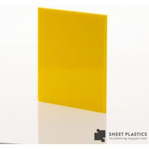 Interior PVC Cladding Sheet 2.5mm Yellow 3050 X 1220