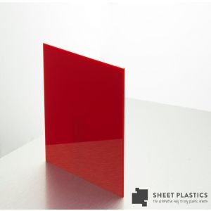 3mm Red Acrylic Sheet Cut To Size
