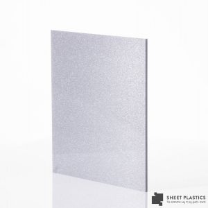 3mm Silver Shimmer Acrylic Sheet Cut To Size