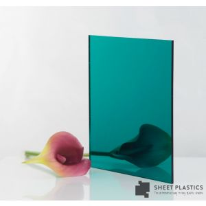 3mm Teal Acrylic Mirror Cut To Size