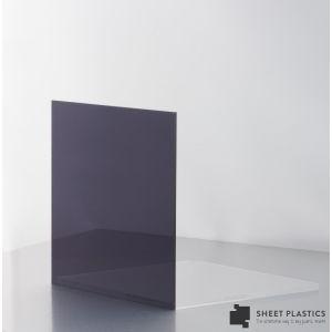 3mm Dark Grey Tint Acrylic Sheet Cut To Size
