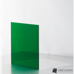 5mm Dark Green Tint Acrylic Sheet Cut To Size