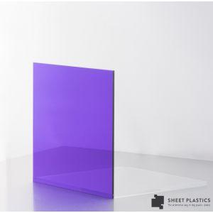 5mm Purple Tint Acrylic Sheet Cut To Size