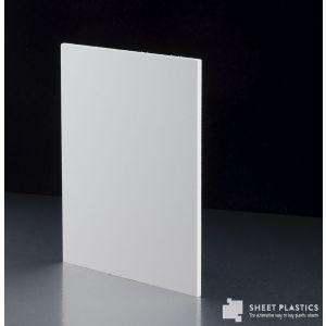 3mm Matt White Foam Pvc Sheet Cut To Size
