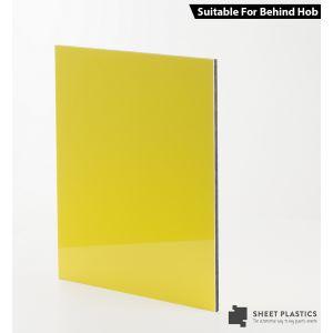 3mm Yellow Aluminium Composite Cut To Size